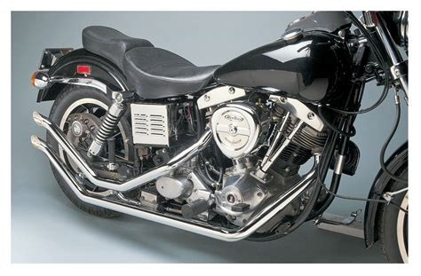Santee Drag Pipes For Harley Shovel Fx 1971-1984