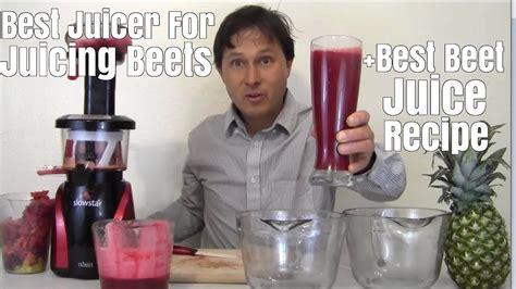 juice beet juicer beets juicing recipe