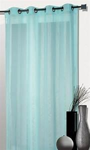 Voilage Bleu Turquoise : rideau turquoise pas cher ~ Teatrodelosmanantiales.com Idées de Décoration