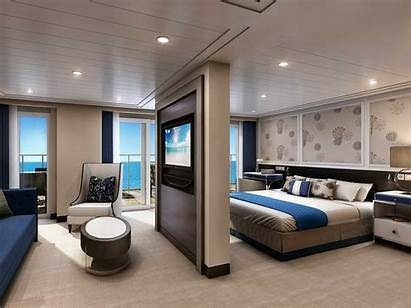 Cruise Ship Suite Luxury Bedroom Luxurious American