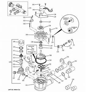 Pump Diagram  U0026 Parts List For Model Gnsh45e01 Ge