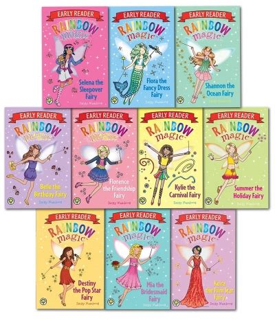 rainbow magic early readers collection 10 books set 965 | image 42977