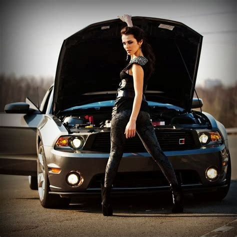 16 Best Sexy Mustang Woman Images On Pinterest
