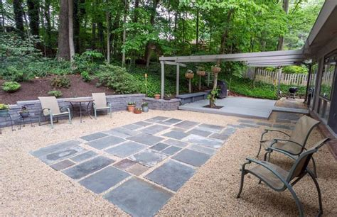 how to make a gravel patio icamblog