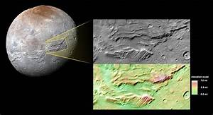 NASA: New Images From Pluto's Moon Suggests Ancient Ocean ...