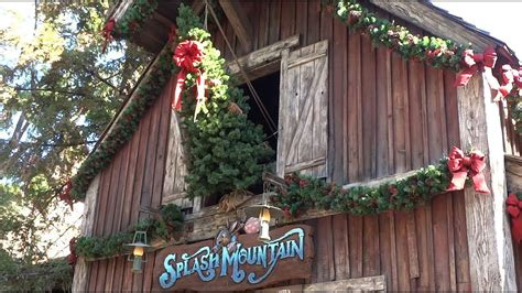pictures of christmas decorations on top of the piano critter country decorations at disneyland 2015