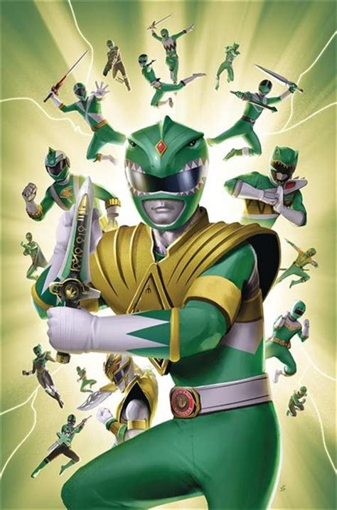 MIGHTY MORPHIN POWER RANGERS #31 LAFUENTE COVER - BOOM ...