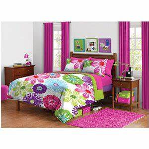 Amazon 3pc Girl Fun Bright Green Pink Purple Bright