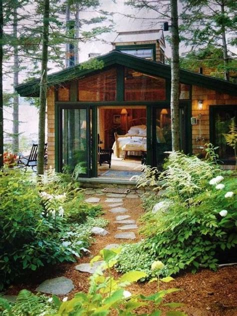 Cottage Montagna by Small House In The Woods House Plans Small Lake Cabins