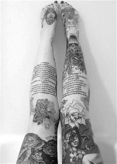 22 Awesome Leg Sleeve Tattoos -DesignBump