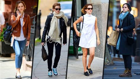 Emma Watson Street Styles Outfits Youtube