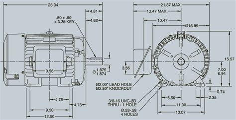 Electric Motor Sizes by What Does Electric Motor Frame Size Quora