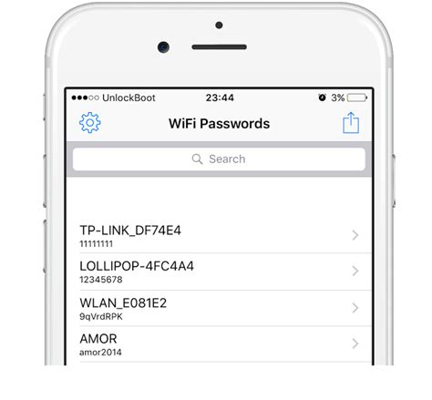 how to see wifi password on iphone view saved wifi passwords on iphone or in ios 11 or 10