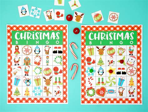 Maybe you would like to learn more about one of these? Printable Christmas Bingo Game - Happiness is Homemade