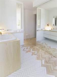 ide carrelage salon affordable ides sur les dernires With idee deco maison neuve 14 carrelage imitation parquet cuisine latest design