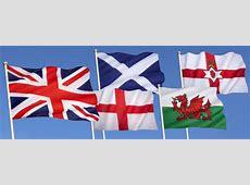 Flags Set USA, United Kingdom, France, Brazil, Germany