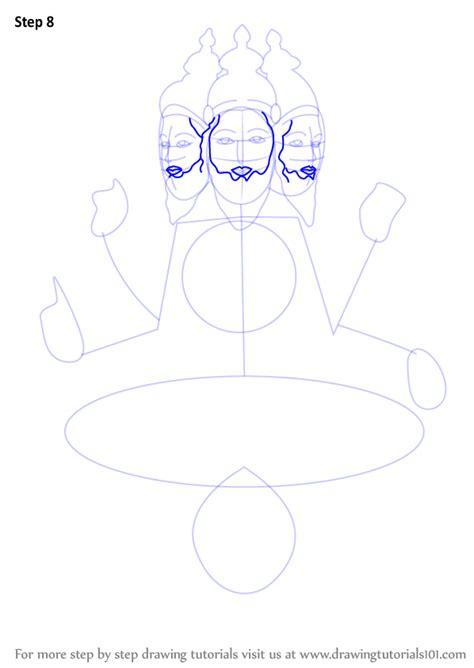 step  step   draw brahma drawingtutorialscom