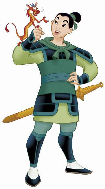 Mulan Disney Mushu Princess Warrior Ping Characters
