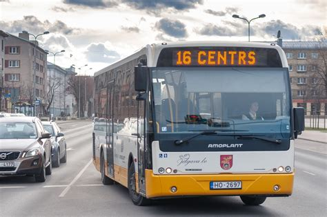 Pirmais Jelgavas autobuss