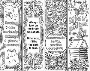 ricldp artworks printable coloring bookmarks With book marker template