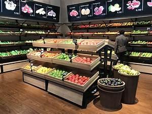 China, Custom, Grocery, Store, Supermarket, Wooden, Display, Rack