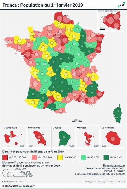 Population France Carte Janvier 1er Vie Francaise