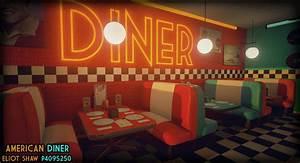 American Diner Zubehör : artstation 50 39 s american diner wip eliot shaw ~ Sanjose-hotels-ca.com Haus und Dekorationen
