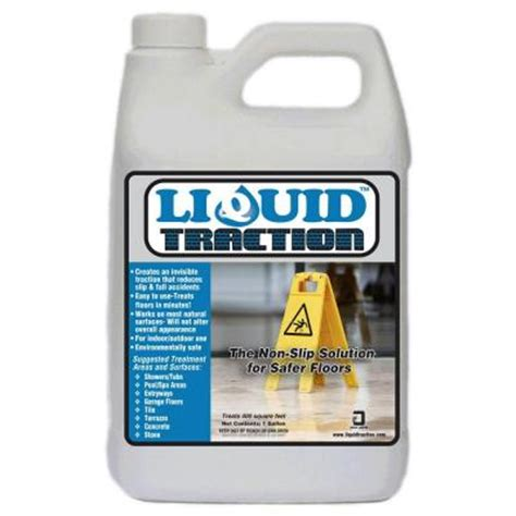 liquid traction 1 gal liquid traction 193041 the home depot