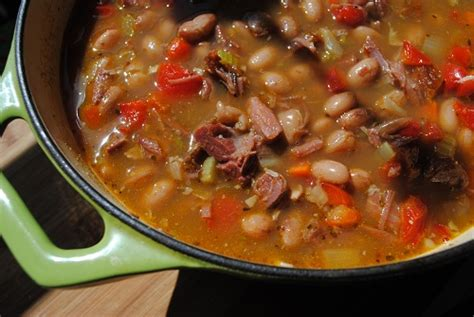 Check the seasoning and serve the beans hot. Lori's Lipsmacking Goodness: Ham Hocks and Red Beans