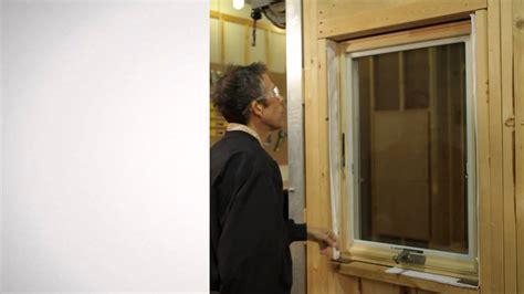 insect screen installation  andersen casement windows youtube