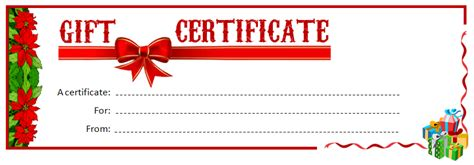 cool printable gift certificates kittybabylovecom