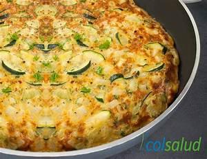 ninos con sobrepeso tortilla de zapallo italiano zucchini recetas