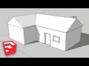 Spectacular Easy To Build Houses by Sketchup 8 Lessons A Simple House