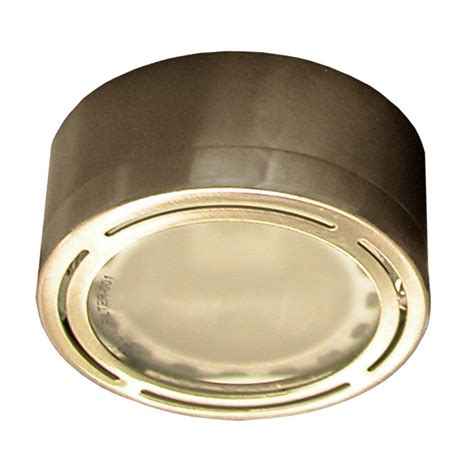 dals lighting l xe120 xenon metal puck cabinet light