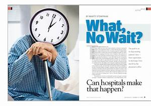 The Push is on to Eliminate Hospital Wait Times