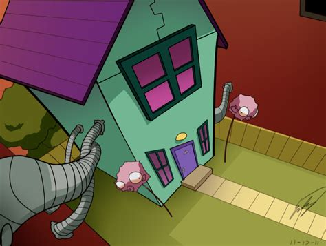 How To Draw A Living Room by Zim S House By Sapphire4723 On Deviantart