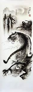 Chinese Tiger Art | Black & White Tiger Drawing | TYGER ...
