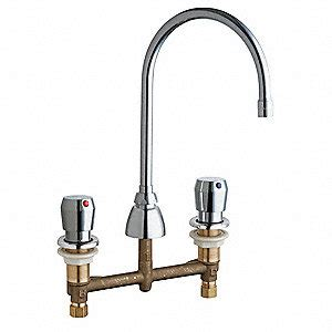chicago faucets brass bathroom faucet push button handle