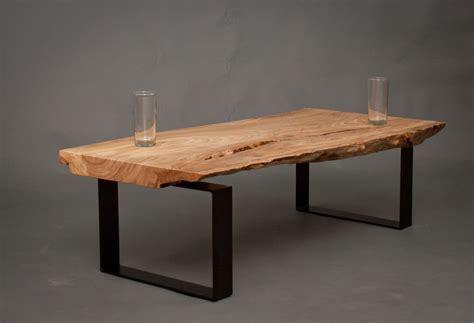 Raw Edge Coffee Table Furniture   Roy Home Design