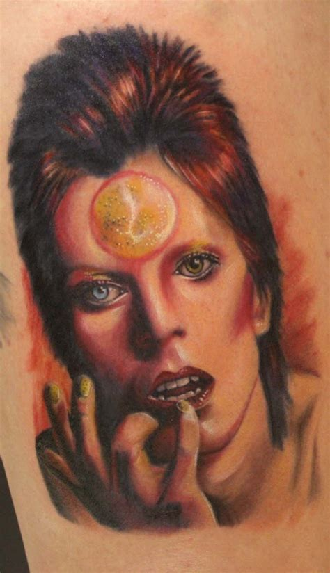 david bowie ison  tattoo images  pinterest