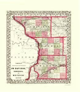 Carroll County Illinois Map