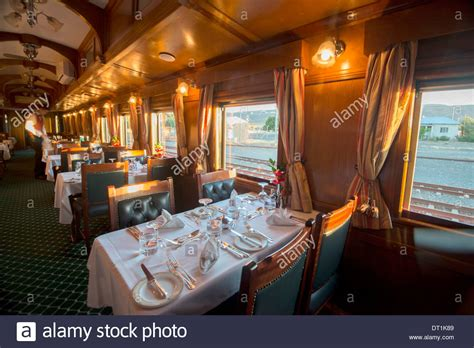 Rovos Rail Luxury Train Dining Car, Northern Cape, South