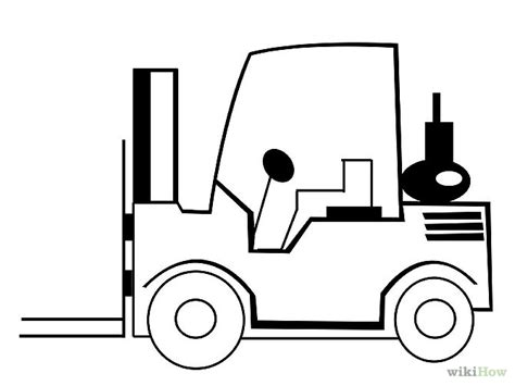 fork lift drawing pictures  pin  pinterest pinsdaddy