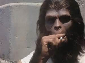photos reveal planet of the apes actors backstage in 1967 daily mail online
