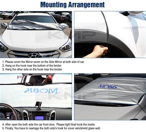 Universal Auto Windshield Sun / Snow Shade For Every Rv