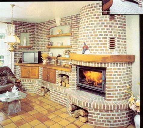 les decoration de cuisine déco intérieur cheminée