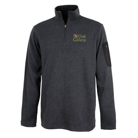 4imprint.com: Heathered Fleece Pullover   Men's 116137 M