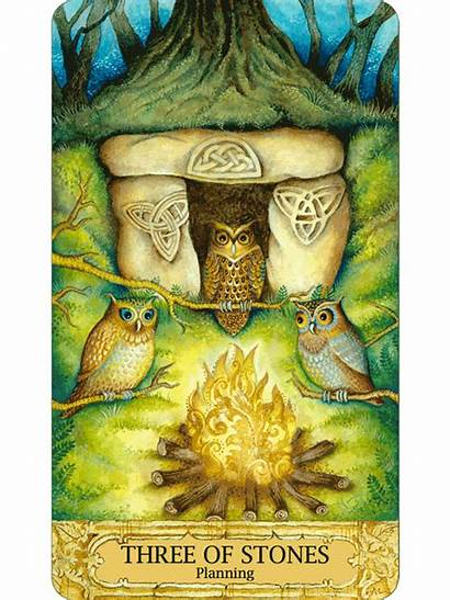 Chrysalis Tarot Stones Three