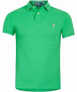 Polo Ralph Lauren Green Polo Shirt in Green for Men | Lyst