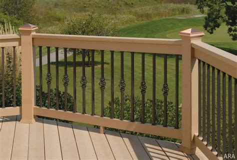 Outdoor Banister Railing by Decks How Deck Rail Height Should Be Designed
